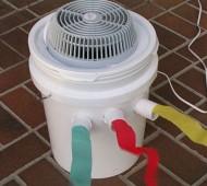 instruções para fazer um ar condicionado