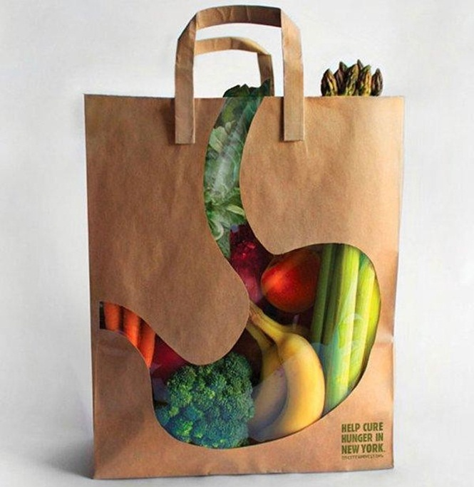embalagens criativas campanha contra a fome