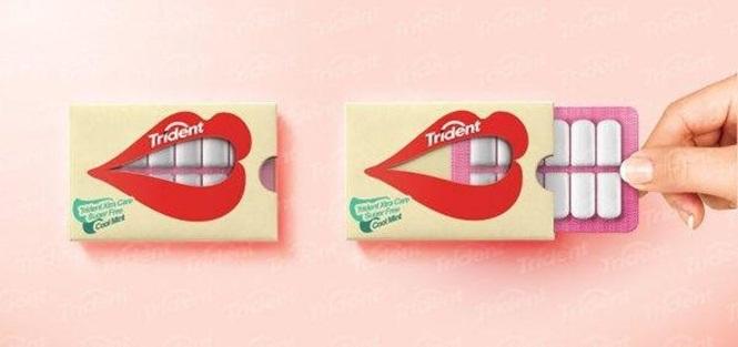 embalagens criativas pastilhas elasticas