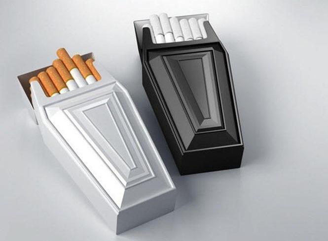 embalagens criativas tabaco saúde