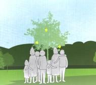 enterro sustentável jardim