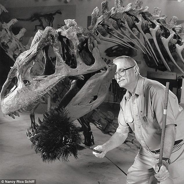 profissões mais estranhas limpar dinossauros