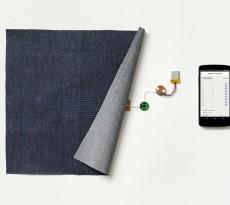 O Project Jacquard, mais um projeto da Google, está a desenvolver tecidos interativos que comunicar com dispositivos eletrónicos, por exemplo telemóveis, tornando a nossa ligação com a tecnologia muito mais natural.