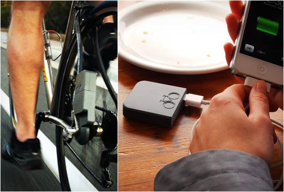 The Atom –  um inovador gerador para bicicletas que transforma a energia que usas para pedalar em energia elétrica.