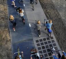 ciclovia solar energia bicicletas