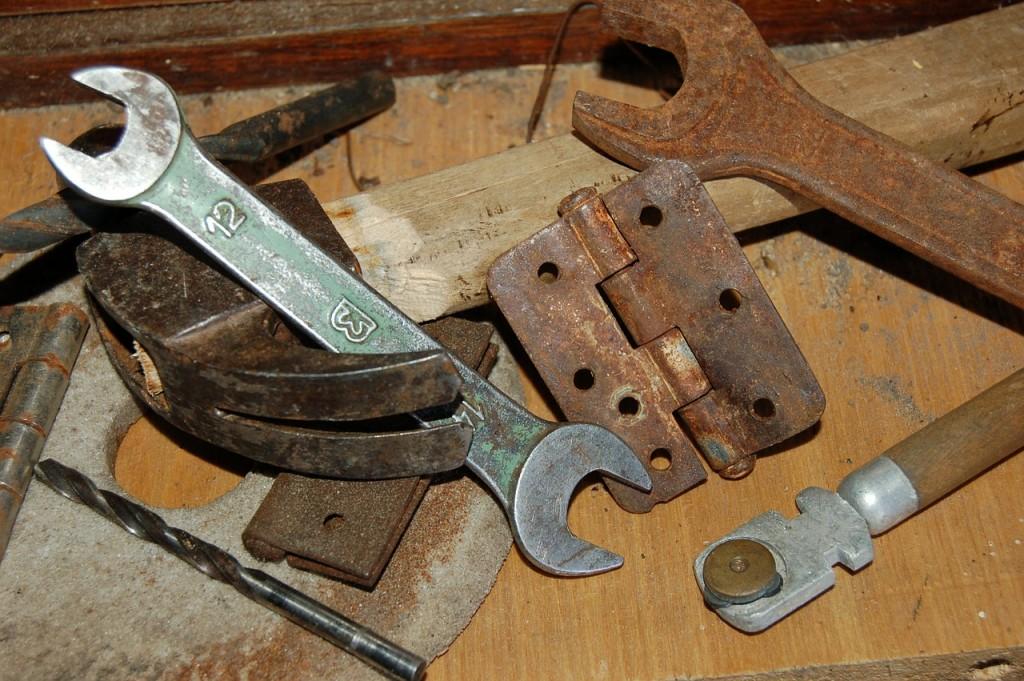 ferramentas ferrugem