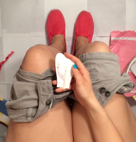 teste de gravidez sustentável