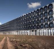 Máquina que absorve dióxido de carbono