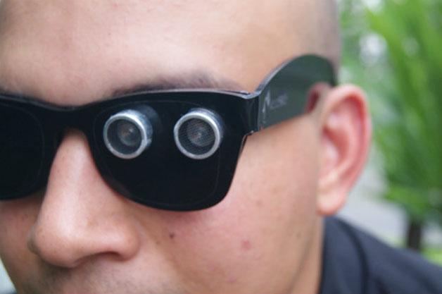 PAW óculos para cegos