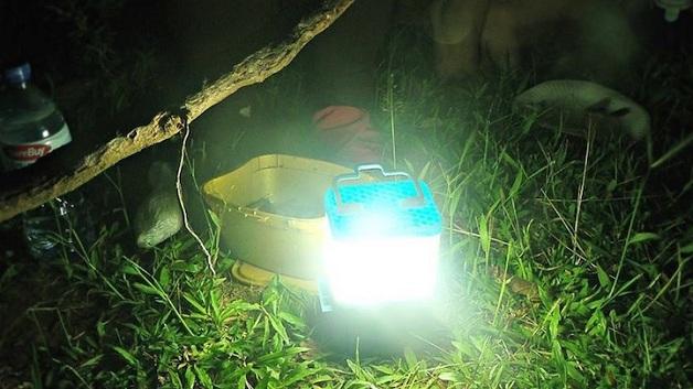 SALt Lamp lâmpada de água e sal