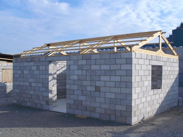 casa estrutura reciclagem de entulho haiti