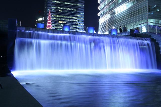 cheonggyecheon cascata despoluir os rios