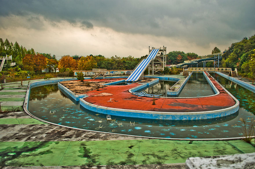 parque de diversões abandonado naraland