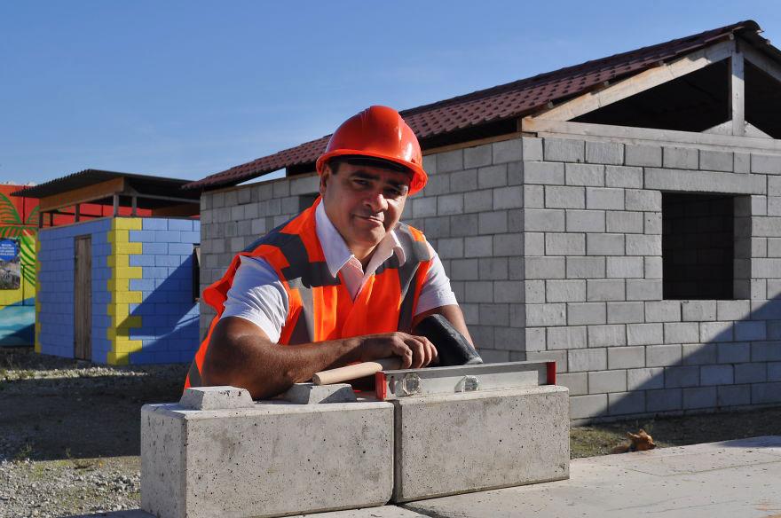 q-brixx tijolo reciclagem de entulho