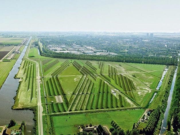 Buitenschot Land Art Park poluição sonora ruído dos aviões