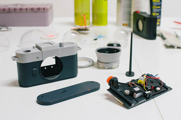 Camera-Restricta funcionamento