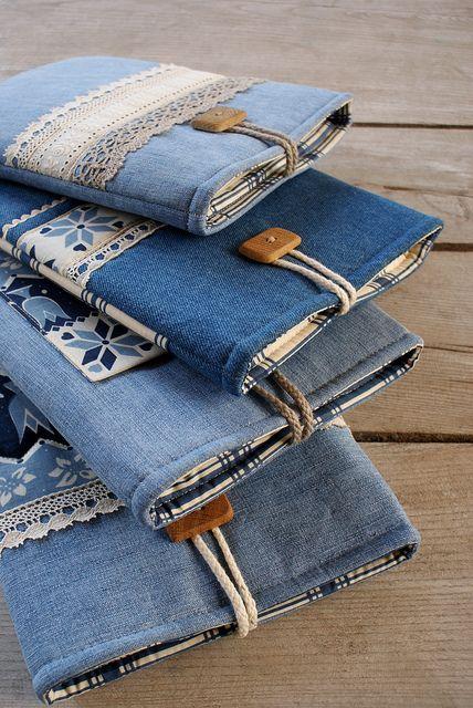 Carteiras calças de ganga