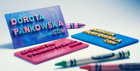Dorota Pankowska cartões de visita