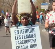 Marathon Walker maratona de paris água potável