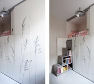Micro-apartamento arrumação