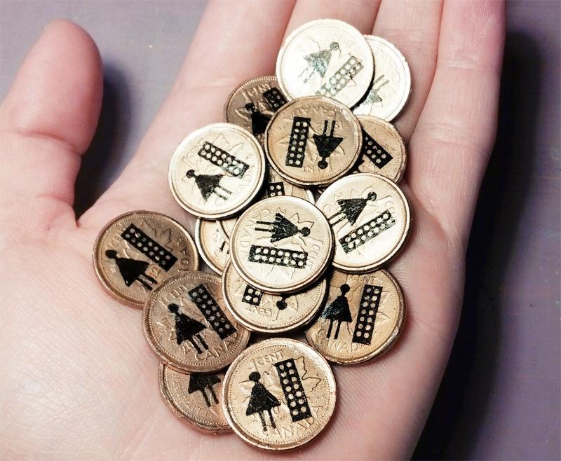 cartões de visita dorota pankowska moedas