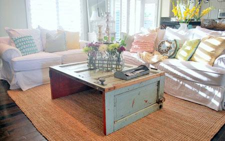 porta mesa reutilizar materiais de construção