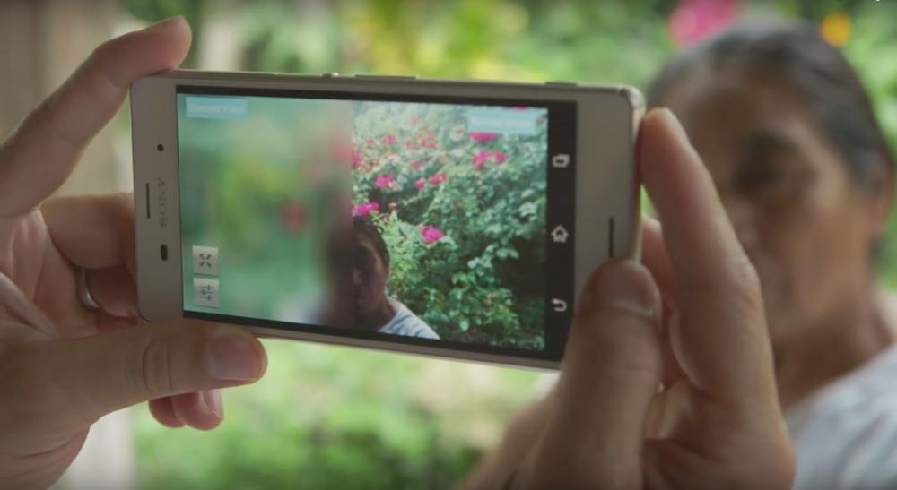 teste de visão telemóvel