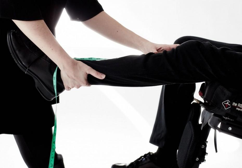 tirar medidas roupas para pessoas com deficiência