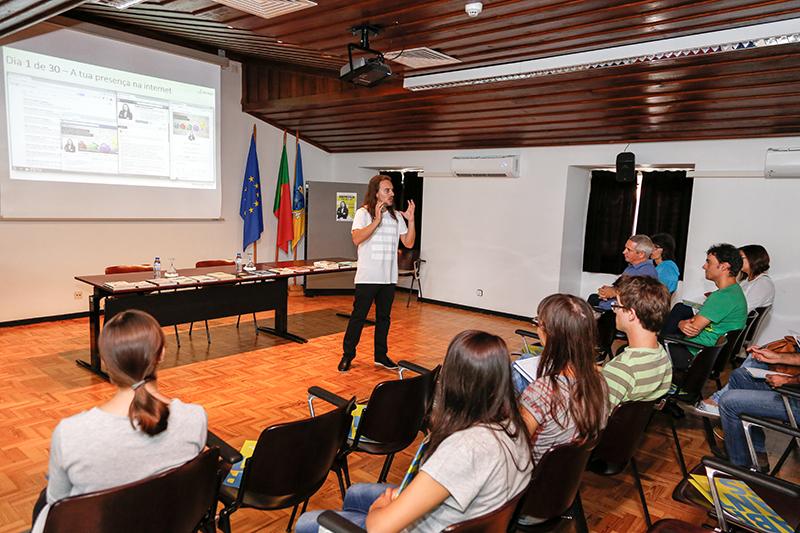 Pedro Silva-Santos workshop emprego 30 dias Abrantes