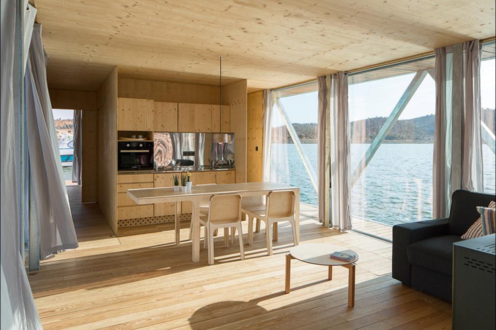 casa barco interiores