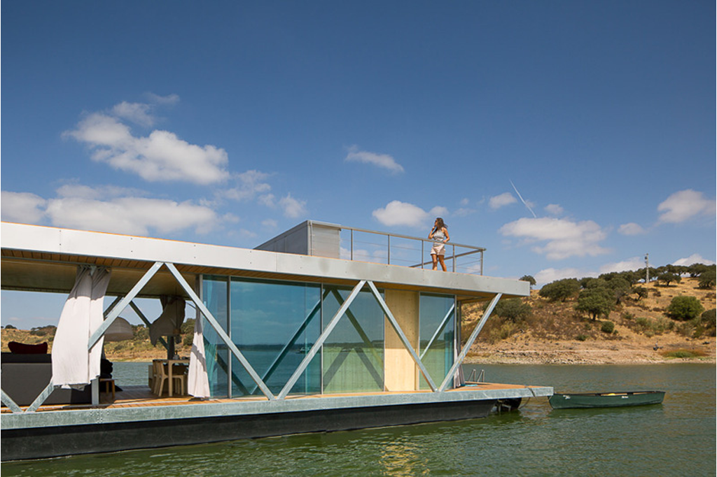 casa barco itecons Alqueva