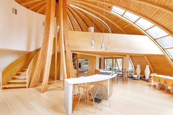 casa oval arquitetura
