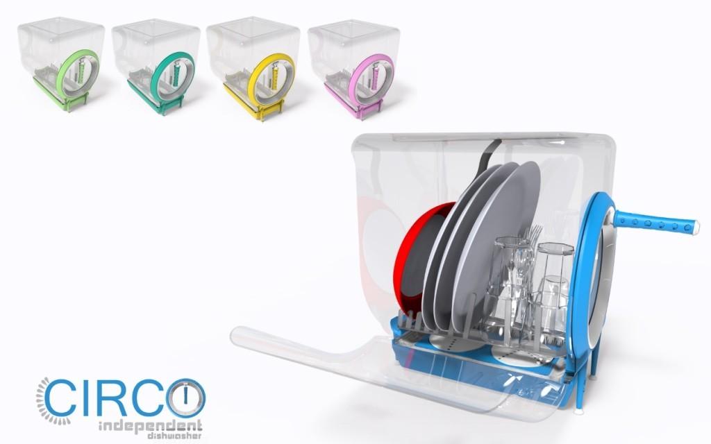 circo independent máquina de lavar-loiça manual