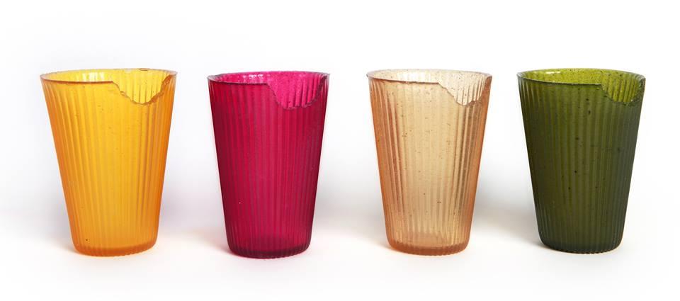 copos comestíveis biodegradáveis