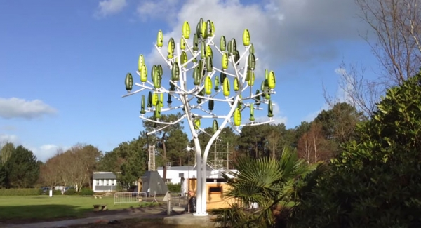 eletricidade renovável árvore artificial smart cities