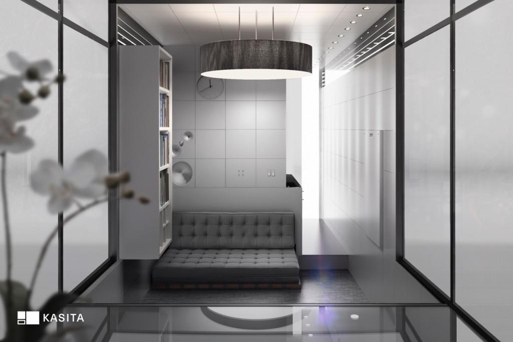 kasita interior casas modulares