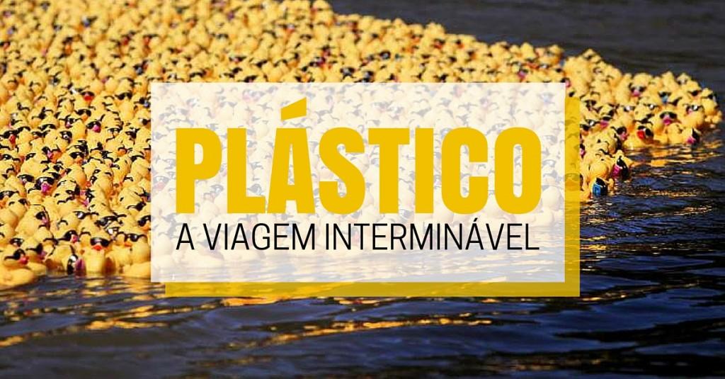 plástico lixo marinho patos de borracha oceano