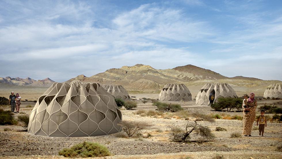 tenda abrigo refugiados