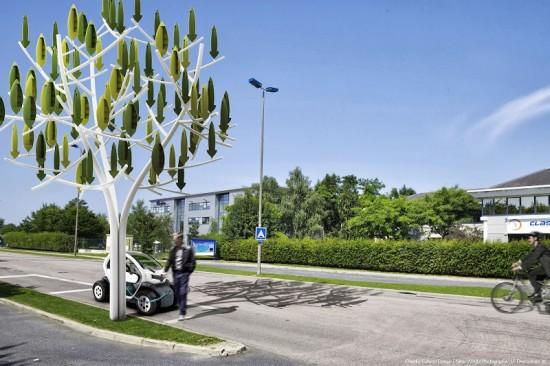 wind tree vento eletricidade