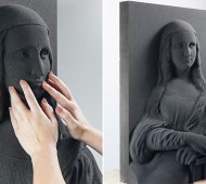 3D Blind Art mona lisa