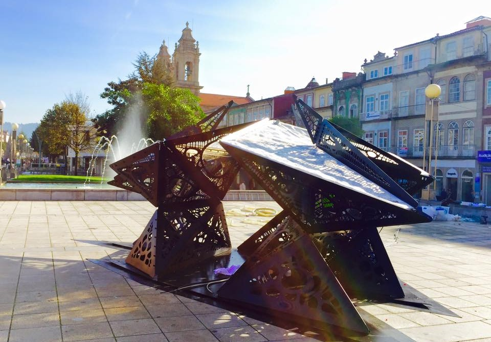 Braga arquitetura microalgas