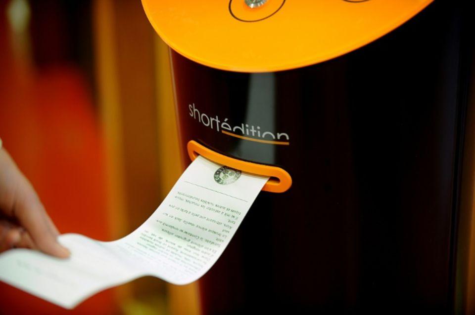 Máquina automática histórias Short Édition