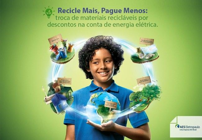 Recicle Mais Pague Menos AES Eletropaulo