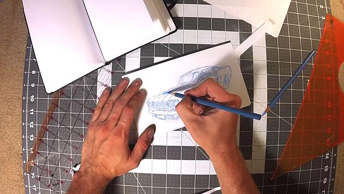 caderno magnético notebook desenho rekonect