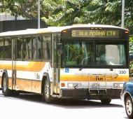 Autocarros abrigos para moradores de rua