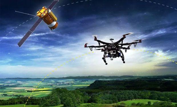 Drone mapeamento mapas