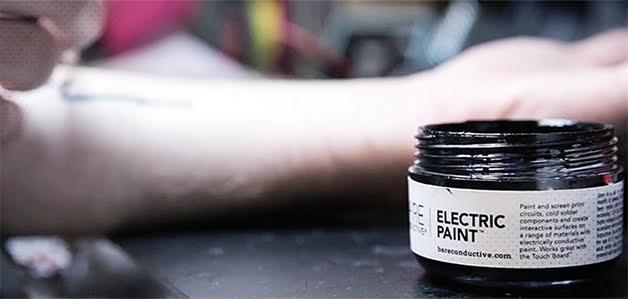 Tech Tats tinta eletrocondutora