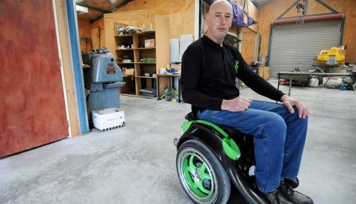 cadeira de rodas elétrica segway