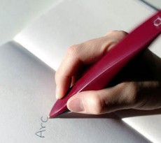 caneta tremores arc pen