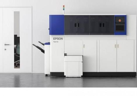 epson máquina reciclagem papel